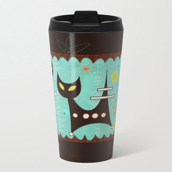Atomic Cats Metal Travel Mug