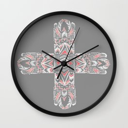 Pocatiki Tribe Wall Clock