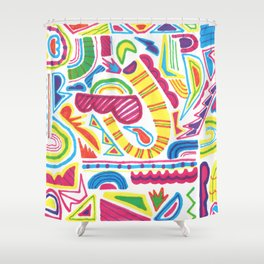 Trailer Jams Vol. 1 Shower Curtain