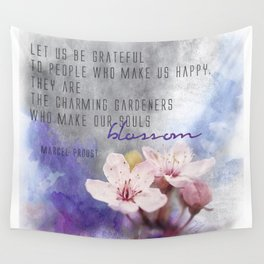 Our Charming Gardeners Wall Tapestry