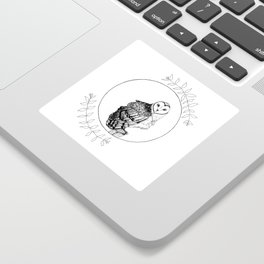 Barn Owl Sticker
