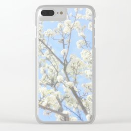 Dogwood Tree Photography Art Clear iPhone Case