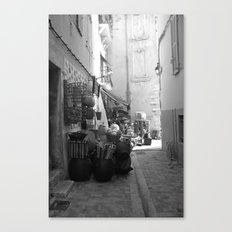 Cassis street Canvas Print