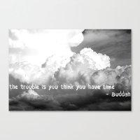 buddah Canvas Prints featuring Buddah by DianaSPhotography