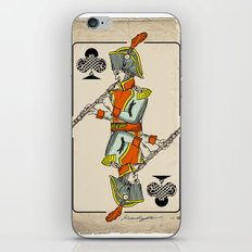 musical poker / Baroque oboe iPhone & iPod Skin