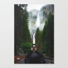 Yosemite Falls iPhone | Yosemite National Park, California Canvas Print