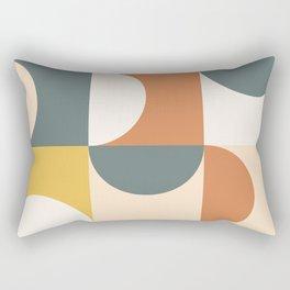 Mid Century Modern Geometric 23 Rectangular Pillow