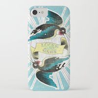 swallow iPhone & iPod Cases featuring Swallow by Chiara Sgatti