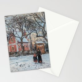 Pissarro - Chataigniers a Louveciennes Stationery Cards