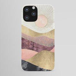 Blush Sun iPhone Case