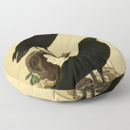 Crow And Raven Floor Pillow
