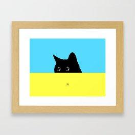 Kitty 2 Framed Art Print