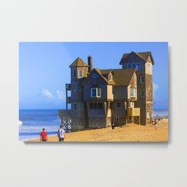 Rodanthe Nights Beach House Metal Print