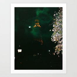 U Tower Art Print