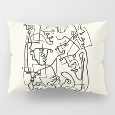 Curves And Lines Pillow Sham