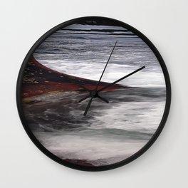 Iron Beach Wall Clock