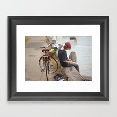 Take me home Framed Art Print