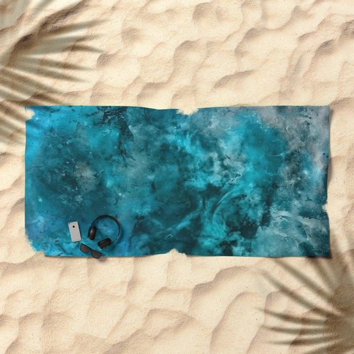α Kitalpha Beach Towel
