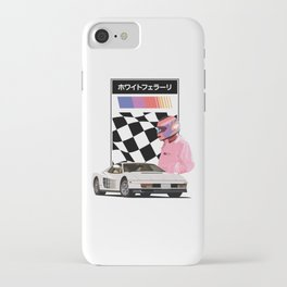 White 'Rari iPhone Case