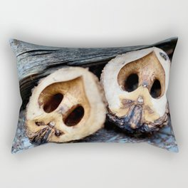 Black Walnut Rectangular Pillow