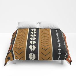 Let's play mudcloth Comforters