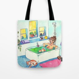 Witchy Relax Tote Bag