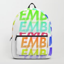 Embrace the pain Backpack