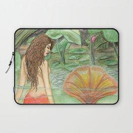 Waterlily Mermaid Laptop Sleeve