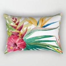Tropical Floral Pattern 05 Rectangular Pillow