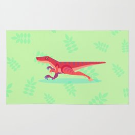 Not Quite So Velociraptor... Yeah, It Does Look Cooler Though Rug
