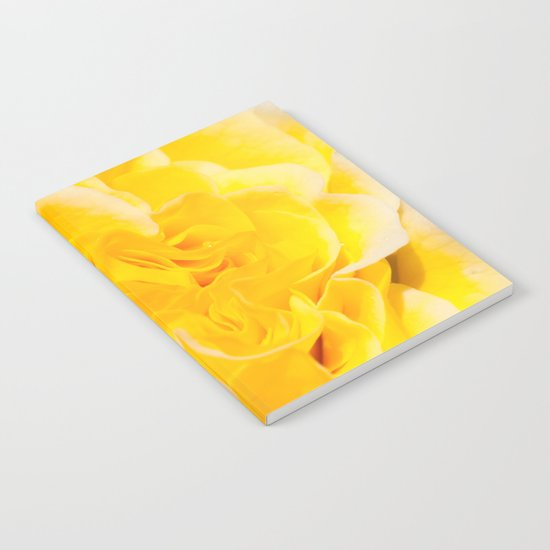 A Touch of Yellow #Rose #1 #art #society6 Notebook