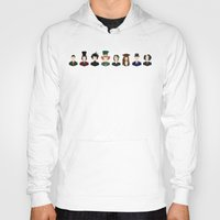 johnny depp Hoodies featuring Johnny Depp Character Print by Loverly Prints