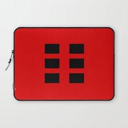 I Ching Yi jing - symbol of kun 坤 Laptop Sleeve