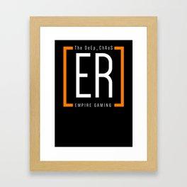 The DeEp_ChAoS - Empire Shirt Framed Art Print