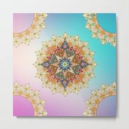 mandala fullcolor Metal Print