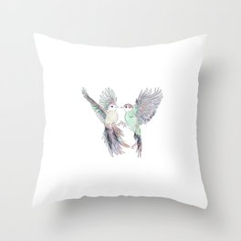 Wedding Birds #4 #Birds in Love Throw Pillow