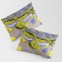 H2O and stars Pillow Sham