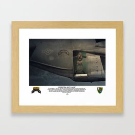 Operation Just Cause Framed Art Print