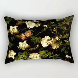 Floral Night I Rectangular Pillow