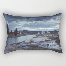 Hot Springs, Yellowstone Rectangular Pillow