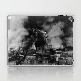 Old Time Godzilla San Francisco Fire Laptop & iPad Skin