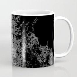 Brisbane map Australia Coffee Mug