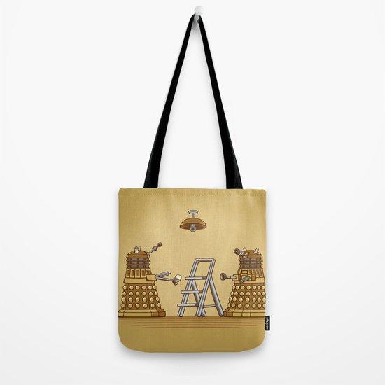 Dalek DIY Tote Bag