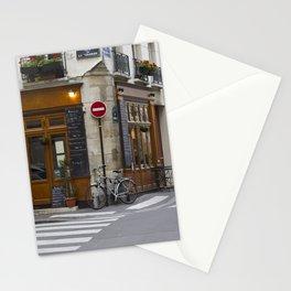 Rue de La Colombe - Paris Print Stationery Cards