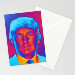 Pop Art President Trump Stationery Cards