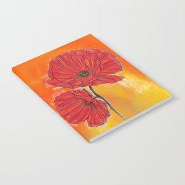 Poppy Variation 7 Notebook