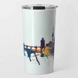 Prague (Praha) Czech Republic Skyline Travel Mug