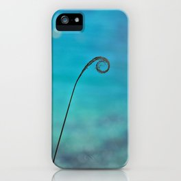 Curl of the Sea iPhone Case