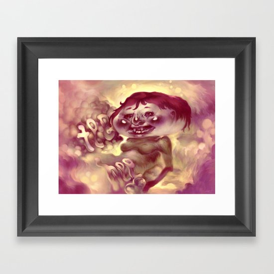 Tee Hee Framed Art Print