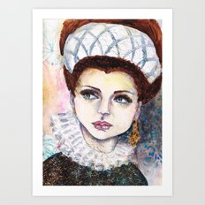 Queen Another Day Art Print